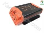 اینورتر 1500 وات USB 2 خودرو با دو پریز برق حرفه ای جدید