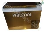 یخچال و فریزر فیل کول دیزاین نیوزیلند 32 لیتری استیل طلایی خودرو