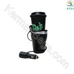گرمکن نوشیدنی+شارژر USB خودرو پرمیر موبایل مدل PW