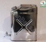 گالن استیل 20 لیتری مجهز به شیر تخلیه
