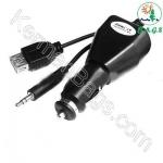 USB و AUX و FM فندکی خودرو
