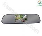 آینه خودرو مانیتور دار 4.3 اینچ مدل C-MM با دوربین دنده عقب
